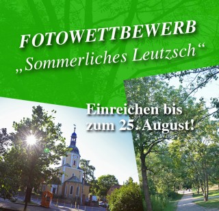 """Fotowettbewerb """"Sommerliches Leutzsch""""   """