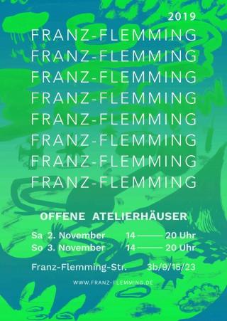 Bildinhalt: Offene Atelierhäuser in der Franz-Flemming-Straße  |