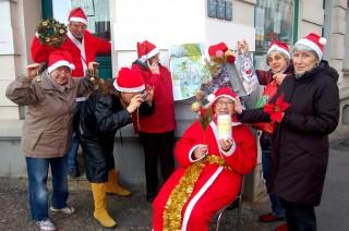 7. Weihnachtskabarett im Stadtteilladen Leutzsch | Leutzscher und Lindenauer Nichtmehr-junge / Foto: Enrico Engelhardt
