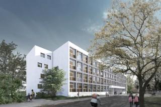 Schule am Leutzscher Holz wird erweitert   Blässe Laser Architekten