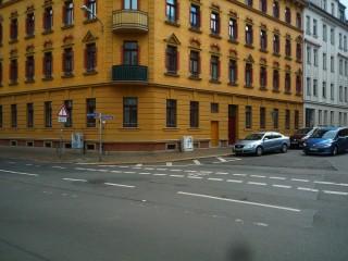 Neue Gehwegnasen sorgen für mehr Verkehrssicherheit   Foto: Daniela Nuß