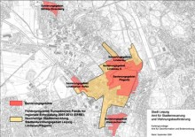 Bildinhalt: F�rdergebiete rund um die Georg-Schwarz-Stra�e