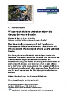 Bildinhalt: Themenabend wissenschaftliche Studien �ber die GSS - 04.06.2012